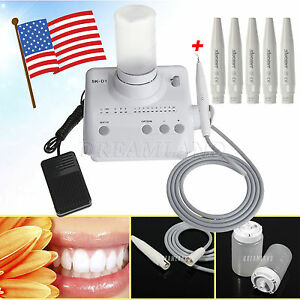 Dental Ultrasonic Piezo Scaler Fit Dte Satelec 5x Handpiece Vwks