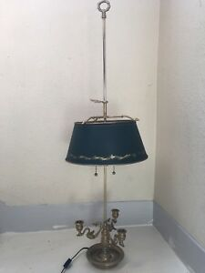 Chapman Brass French Empire Style Bouillotte Toll Lamp