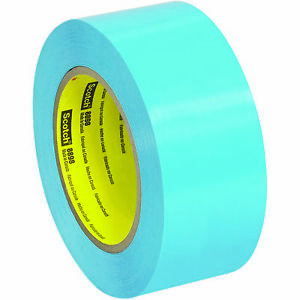 Scotch 3m 8898 Tensilized Poly Strapping Tape 4 6 Mil 2 X 60 Yds Blue 24 case