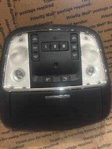 2011 2014 Chrysler 300 Dodge Charger Overhead Console W Homelink