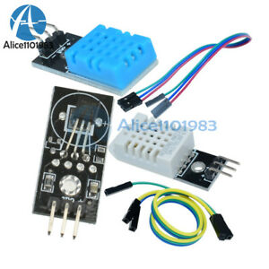Dht22 am2302 Dht11 Ds18b20 Digital Temperature And Humidity Sensor Module