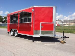 New Food Trailer Catering Concession Bbq 16 X 8 5 Fully Equipped