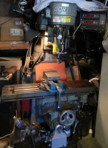 Gorton Master Mill 2 Axis Vertical Mill Milling Machine