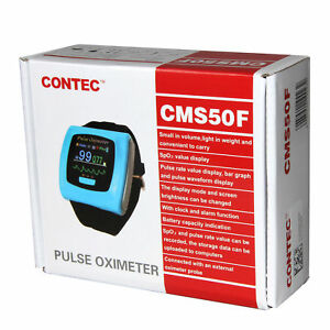 Contec Wrist Oled Pulse Oximeter Watch Type pc Software Spo2 Blood Oxygen