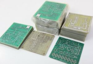 Large Lot Of Virgin Pcb Blank Printed Circuit Boards