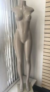 Brazilian Style Full Body Mannequin Female Creme Base
