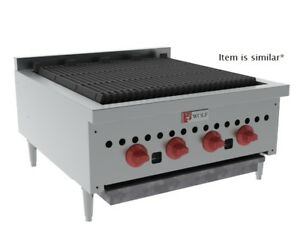 Wolf Scb30 Commercial 30 Counter Top Gas Charbroiler