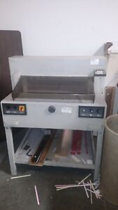 Triumph Paper Cutter 6550 ec 25 5 Digital And Full Power Clamp