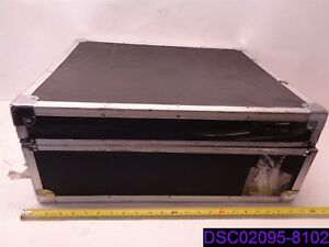 Used Tradeshow Portable Document Display 19 X 22 1 2 Case 39 1 2 Tall Table