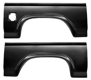 Rear Wheel Arch Quarter Panel With Fuel Hole For 80 86 Ford F150 F250 F350 Pair