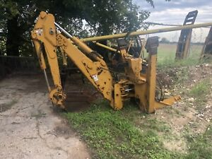 Vermeer V 9300 Backhoe Attachment V9300 Oem Parts 112 Diggin For Trencher Etc