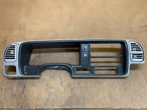 95 98 Chevy Gmc Speedometer Bezel Silverado Sierra Oem Light Gray On Sale