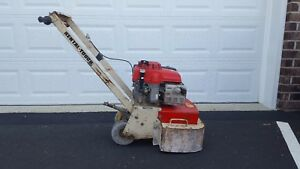 Edco 2gc 11h Gas Powered Grinder Dual Head Concrete Grinder Planer Scarifier