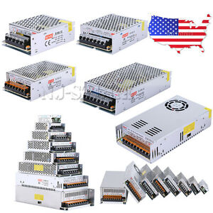 Universal 12v 5 10 15 20 25 30a 50a Switching Power Supply Driver For Led Strip
