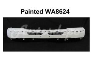 Painted Wa8624 Front Steel Bumper Face Bar For Chevy Silverado Classic 2003 2007