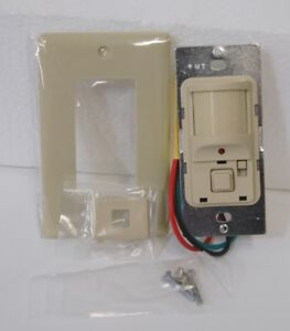 Hubbell Atp12771 Wall Switch Occupancy Sensor Passive Infrared Ivory