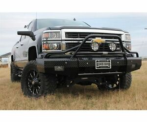 Ranch Hand Bsc14hbl1 In Stock Summit Bullnose Bumper 14 15 Chevy Silverado