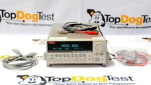 Keithley 6221 Dc And Ac Current Source Calibrated