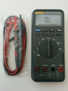 Fluke 85iii True Rms Digital Handheld Multimeter 85 3 New Test Lead Probes