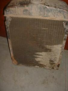 Original Farmall M Tractor Working Radiator Ihc Md m