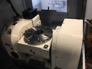 2014 Tsudakoma Tn 320 Cnc 5th Axis Trunnion Table