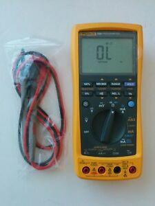 Fluke 789 Process Calibrator Meter Multimeter Test Lead Probes Excellent