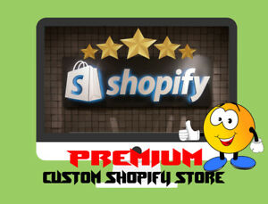 Custom Premium Shopify Dropshipping Store website
