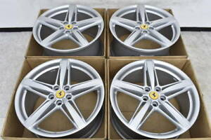 Original Ferrari F12 Berlinetta 20 Inch Alloy Wheels Rims 2704093107 2704113106