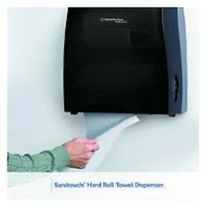 Sanitouch Professional Towel Dispenser High Capacity Wall Mount Hard Roll Office