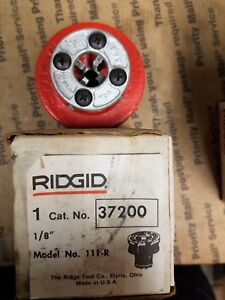 Ridgid 1 8 Npt 111 r Hand Threader Die Head No 37200 New Free Shipping