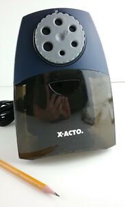 X acto Teacher Pro Classroom Electric Pencil Sharpener Model 1675 Tested