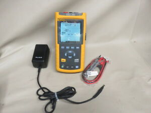 Fluke 43b Volt Meter Power Quality Analyzer V2 03 International Ship Look