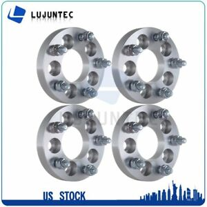4 5x100 To 5x4 5 Wheel Spacers Adapter 12x1 5 Stud 2003 2013 For Toyota Matrix