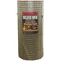 Jackson Wire 10043614 Welded Wire Fence 100 Ft Roll L X 24 In H X 14 Ga T 1 X