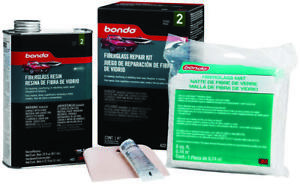 Bondo 422 Fiberglass Resin Repair Kit 1 Qt Can