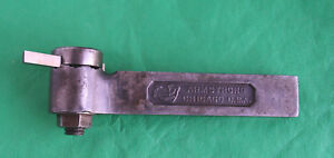 Armstrong No 40 Multi Position Shaper Tool Holder Lantern Tool Post Machinist