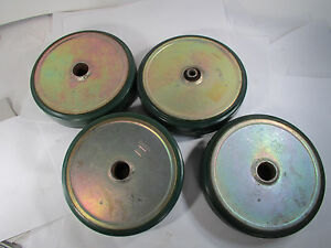 Lot Four Sw Bassick 8 By 2 Caster Wheels Never Been Used