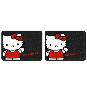 Brand New Hello Kitty Core Rear Floor Mats Utility Mat Pair