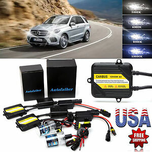 Ac 55w H7 Canbus No Flicker Xenon Hid Conversion Set For Mercedes Benz E350 E550