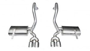 Corsa 14132 Xtreme Exhaust System Axle back 97 04 Chevy Corvette C5 z06 5 7l