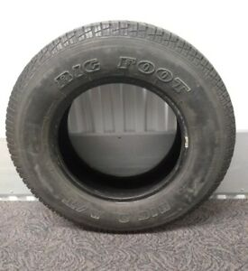 P225 75r16 Big O Big Foot White Letter Tire
