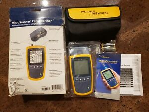 Fluke Networks Ms2 100 Microscanner2 Cable Verifier