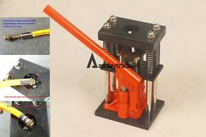 Usa 6 Tons Manual Hydraulic Hose Crimper Benchtop Bottle Jack Press Crimp