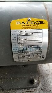 Baldor M3611t 3 Phase 3hp Electric Motors