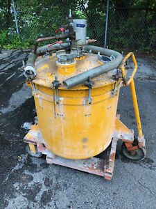 Pressure Mixing Tank 90 Gallon