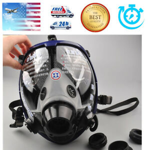 6800 Large Anti dust Facepiece Respirator Painting Spraying Full Face Gas Mask