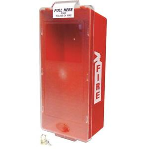Mark Jr Fire Extinguisher Cabinet 5 Lb Red Tube And Clear Cover