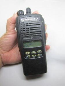 Motorola Ht1250 Ls 403 470mhz Two Way Radio Aah255cf4dp5an