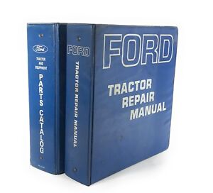 Ford 2000 3000 4000 5000 Tractor Repair Manual 7000 Parts Catalogue 1966