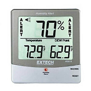 Extech 445814 Humidity Alert Hygro thermometer With Dew Point